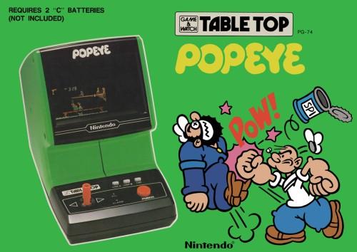Popeye inspiration