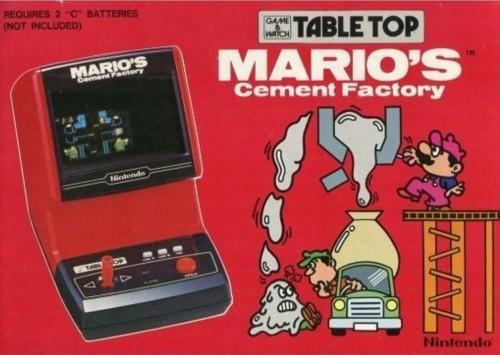 Mario's Cement Factory inspiration