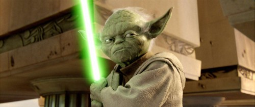 Yoda inspiration