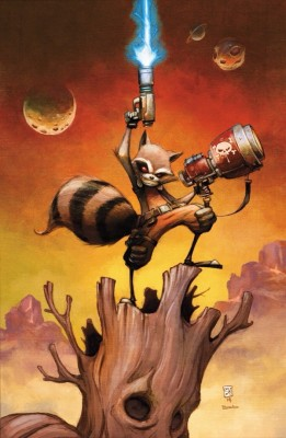 Rocket Raccoon inspiration