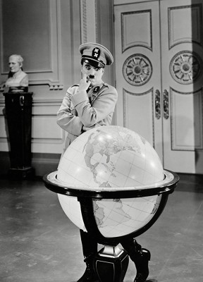 Charles Chaplin - The Great Dictator inspiration