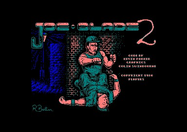 Joe Blade 2 inspiration