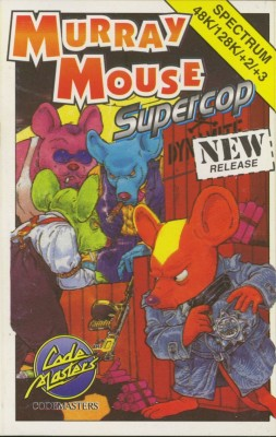 Murray Mouse Supercop inspiration