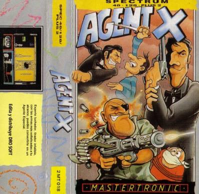 Agent X 1&2 Cracktro inspiration