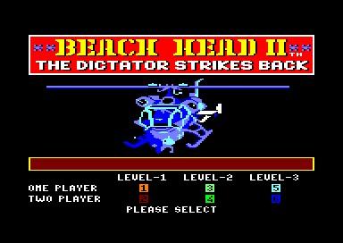 Beach-Head II inspiration