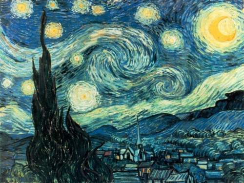 The Starry Night inspiration