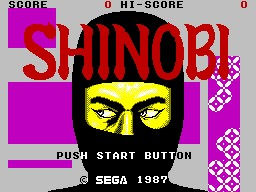 Shinobi inspiration