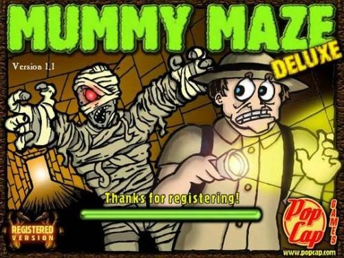 Mummy Maze inspiration