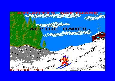 Alpine Games inspiration
