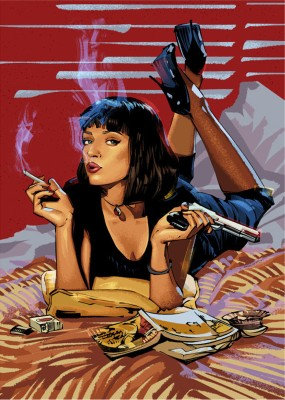 Pulp Fiction inspiration