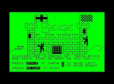 Siege inspiration