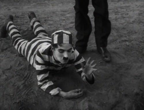 Charles Chaplin. The Adventurer inspiration