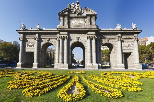 Madrid. Puerta de Alcalá Gate inspiration