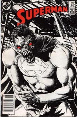 Superman Werewolf inspiration