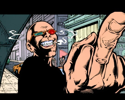 Spider Jerusalem Says inspiration