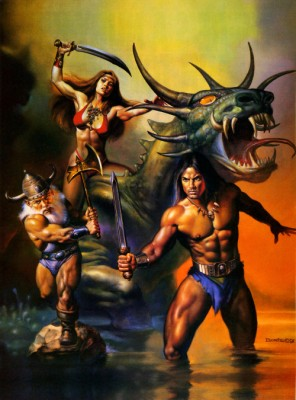 Golden Axe II inspiration