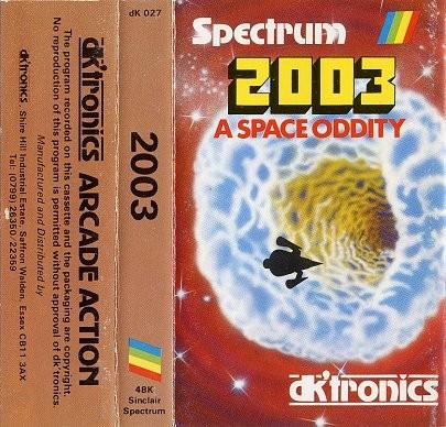2003: A Space Oddity inspiration