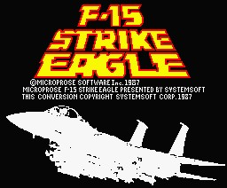 F-15 Strike Eagle inspiration