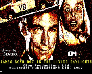 The Living Daylights - The Computer Game inspiration