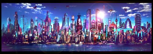 ZX Cosmopolis inspiration