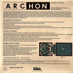 Archon Back