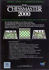 Chessmaster2000The Back