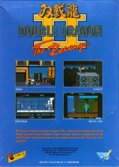 DoubleDragonII-TheRevenge(DroSoft) Back