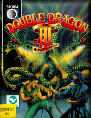 DoubleDragonIII-TheRosettaStone Front