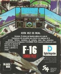 F-16CombatPilot(System4) Back