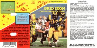 AmericanFootball(GridIron)(TopTenSoftware)
