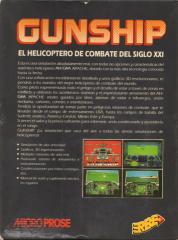 Gunship(ErbeSoftwareS.A.) Back