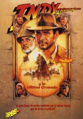 IndianaJonesAndTheLastCrusade(IndianaJonesYLaUltimaCruzada)(ErbeSoftwareS.A.) Poster