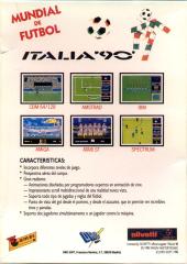 Italia90-WorldCupSoccer(DroSoft) Back
