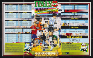 Italy1990-WinnersEdition Poster