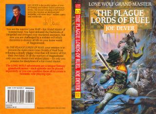 LoneWolf-TheMirrorOfDeath BookCover