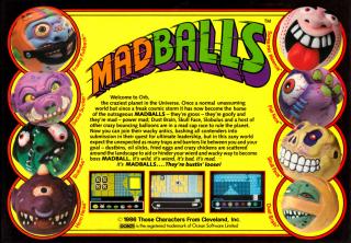 Madballs Back