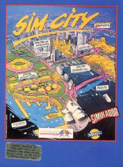SimCity(ErbeSoftwareS.A.) Front