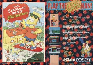 Simpsons-BartVs.TheSpaceMutantsThe 3
