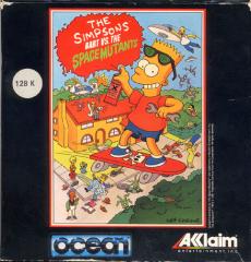 Simpsons-BartVs.TheSpaceMutantsThe(ErbeSoftwareS.A.) Front
