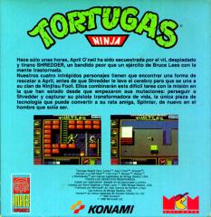 TeenageMutantHeroTurtles(TortugasNinja)(MCMSoftwareS.A.) Back