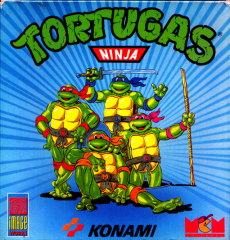 TeenageMutantHeroTurtles(TortugasNinja)(MCMSoftwareS.A.) Front