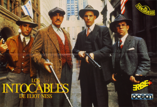 UntouchablesThe(IntocablesLos)(ErbeSoftwareS.A.) Poster