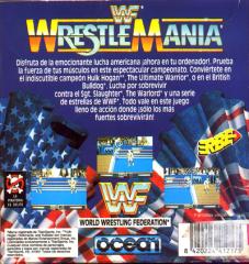 WWFWrestleMania(ErbeSoftwareS.A.) Back