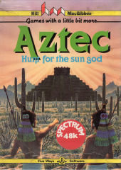 Aztec-HuntForTheSun-God Front