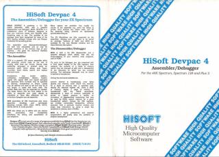 HiSoftDevpacV4
