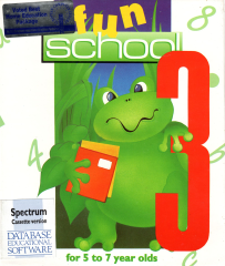 FunSchool3-For5-7YearOlds Front