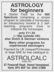 Astrocalc