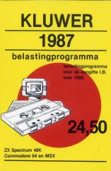 Belastingprogramma1987