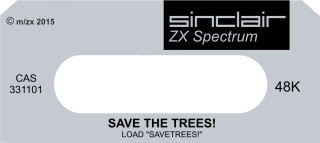 SaveTheTrees Label