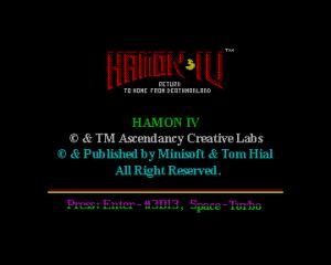 Hamon iv 1